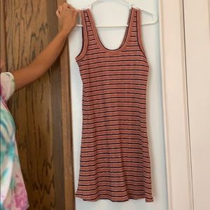An American eagle striped dress